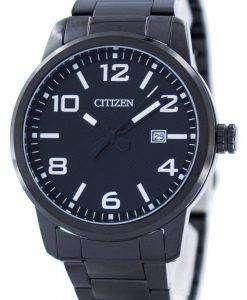 시민 쿼 츠 블랙 다이얼 BI1025-53E 남자의 시계