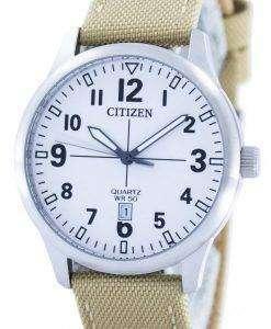 시민 쿼 츠 화이트 다이얼 BI1050-05A 남자의 시계