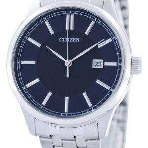 시민 쿼 츠 블루 다이얼 BI1050-56 L 남자의 시계