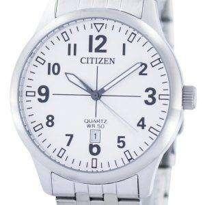 시민 쿼 츠 화이트 다이얼 BI1050-81B 남자의 시계