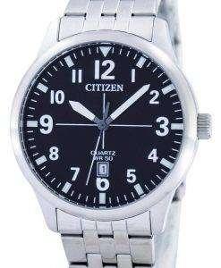 시민 쿼 츠 블랙 다이얼 BI1050 81F 남자의 시계