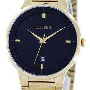 시민 쿼 츠 블랙 다이얼 BI5012-53E 남자의 시계