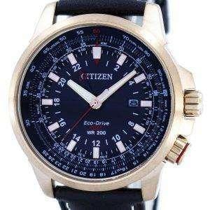 시민 Promaster 에코 드라이브 GMT BJ7073-08E 남자의 시계