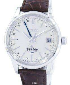 그랜드 세이 코 하이 비트 36000 GMT 자동 파워 리 저 브 37 보석 SBGJ017 남자의 시계