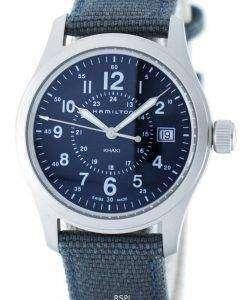 해밀턴 카 키 필드 석 영 스위스 만든 H68201943 남자의 시계