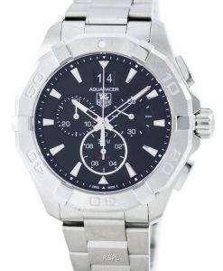 스위스 태그 Heuer Aquaracer 크로 노 그래프 쿼 츠 300 M CAY1110을 했다. BA0927 남자의 시계