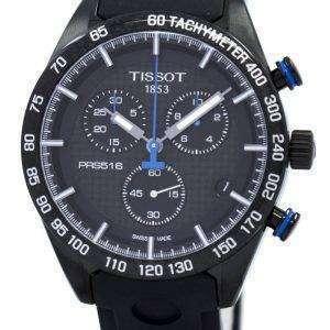 Tissot PRS 516 쿼 츠 크로 노 그래프 T100.417.37.201.00 T1004173720100 남자 시계