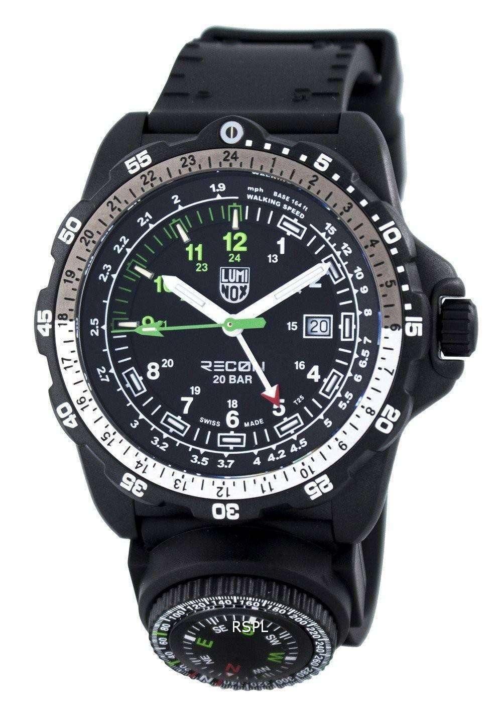 Luminox Recon Point Man 8820 Series Swiss Made 200M XL.8832.MI Mens Watch