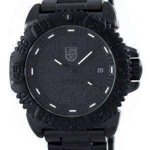 Luminox 해군 강철 Colormark 3150 시리즈 스위스 XS.3152.BO.NV 남자의 시계를 만든