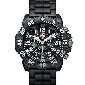 Luminox 해군 물개 Colormark 크로 노 그래프 3080 시리즈 스위스 만든 XS.3082 남자의 시계