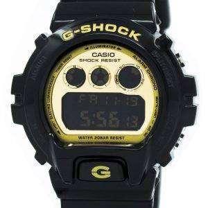 건반의 g 조-충격 조명 기 블랙 & 골드 DW-6900CB-1 남자의 시계