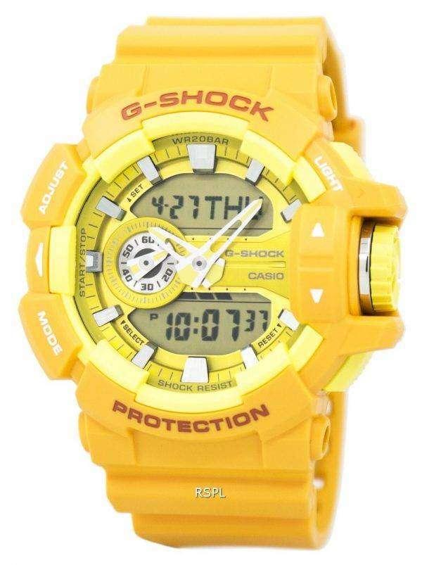 카시오 G 쇼크 아날로그-디지털이-400A-9A 남자의 시계