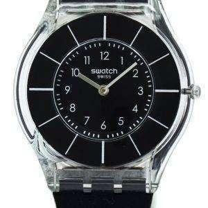 스와치 스킨 블랙 Classiness 석 영 SFK361 여자 시계