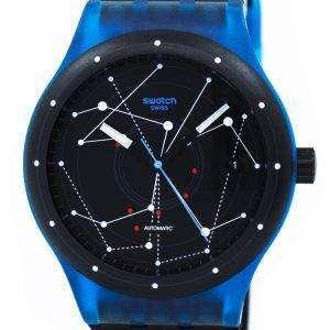 견본 원본 시스템 블루 자동 SUTS401 Unisex 시계