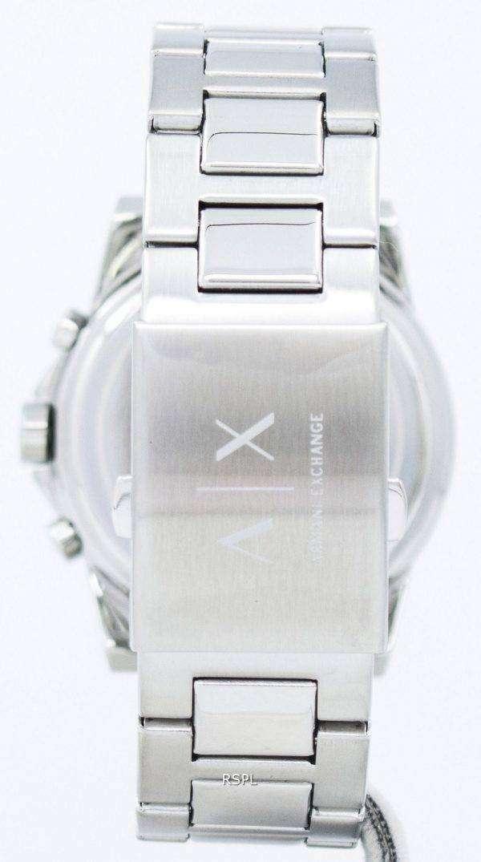 아르마니 익스체인지 크로 노 그래프 블랙 다이얼 AX2084 남자의 시계