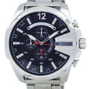디젤 메가 최고 쿼 츠 크로 노 그래프 블랙 다이얼 DZ4308 남자 시계