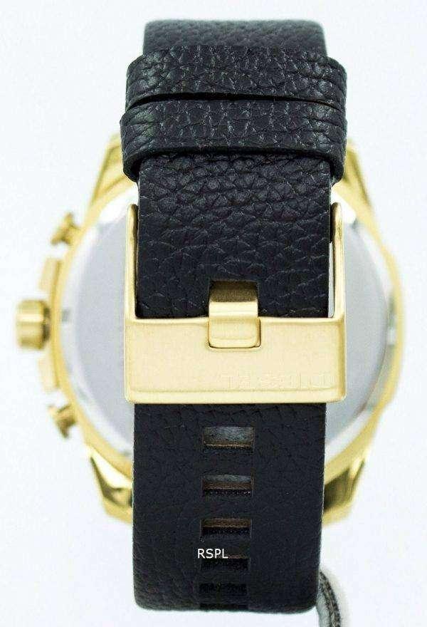 디젤 메가 최고 크로 노 그래프 석 영 DZ4344 남자의 시계