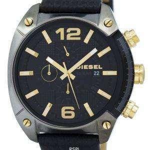 디젤 오버플로 시간대 크로 노 그래프 석 영 DZ4375 남자의 시계