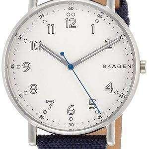 스 카 겐 서명 석 영 SKW6356 남자의 시계