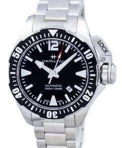 해밀턴 카 키 해군 Frogman 자동 H77605135 남자의 시계
