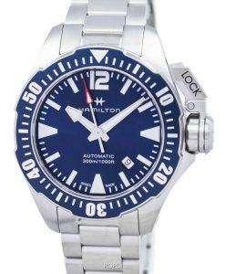 해밀턴 카 키 해군 Frogman 자동 H77705145 남자의 시계