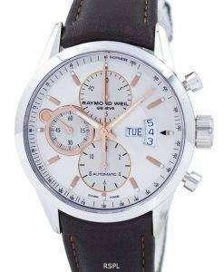 레이 몬 드 웨 일 제네바 프리랜서 크로 노 그래프 자동 7730-STC-65025 남자의 시계