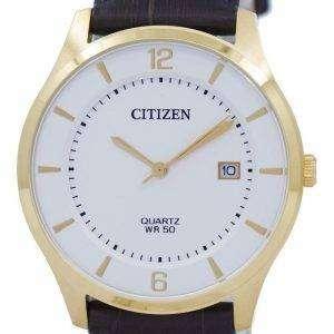 표준 BD0043-08B 남자 시민 아날로그 석 영 시계