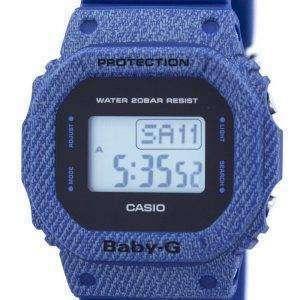건반 베이비-G 데님 디지털 BGD-560DE-2 여자의 시계 알람 것