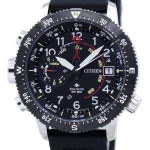시민 Promaster 에코 드라이브 전원 예비 BN4044-15E 남자 시계