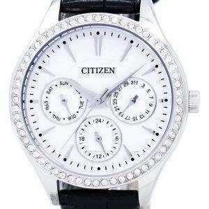 시민 석 영 다이아몬드 악센트 ED8160 09A 여자의 시계