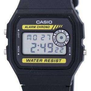 카시오 크로 노 알람 디지털 F-94WA-9 남자의 시계