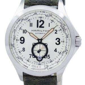 해밀턴 카 키 Avaition QNE 자동 H76655723 남자의 시계