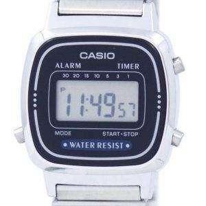 카시오 알람 디지털 라-670WA-2D 여자의 시계
