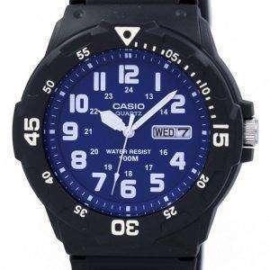 카시오 석 영 아날로그 MRW-200 H-2B2V 남자의 시계