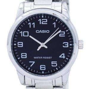 카시오 석 영 아날로그 MTP V001D 1B 남자의 시계