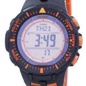 건반 Protrek 힘든 태양 트리플 센서 디지털 PRG-300 CM-4 남자의 시계