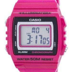 카시오 조명 기 크로 노 그래프 알람 디지털 W-215 H-4AV 남자의 시계