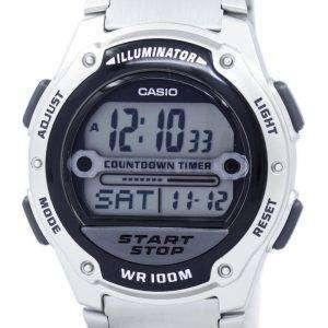 카시오 조명 카운트 다운 타이머 디지털 W-756 D-1AV 남자의 시계