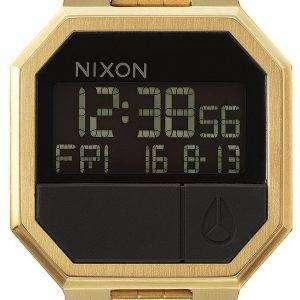 닉슨 다시 실행된 알람 디지털 A158-502-00 남자 시계