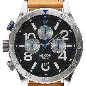 닉슨 48-20 크로 노 쿼 츠 A363-1602-00 남자 시계