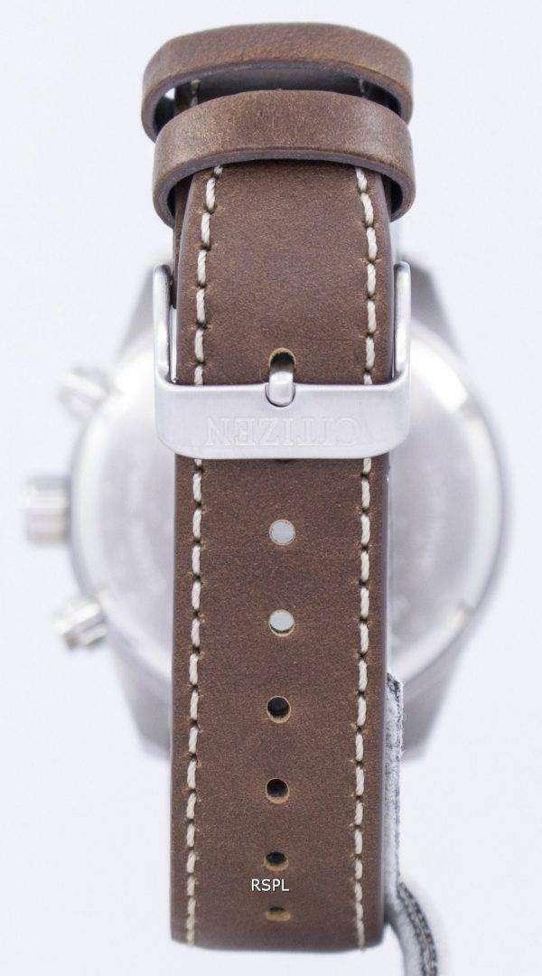 AN3620-01 H 남자 시민 크로 노 그래프 쿼 츠 시계