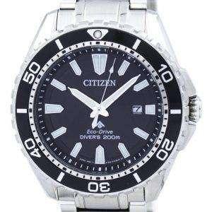 시민 Promaster 에코 드라이브 200 M 다이 버 BN0190 82E 남자의 시계