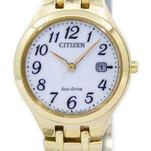 시민 골프 코스 에코-드라이브 EW2482-53A 여자의 시계