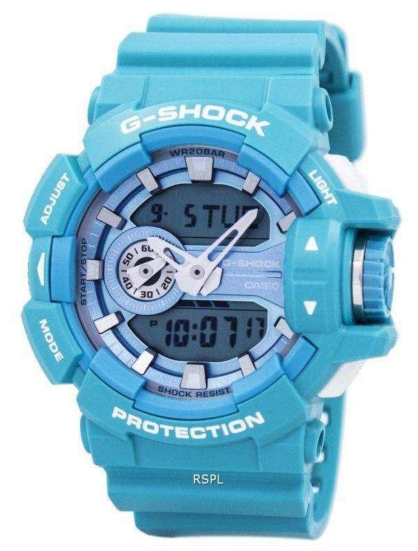 카시오 G 쇼크 아날로그-디지털 조지아-400A-2A 남자의 시계