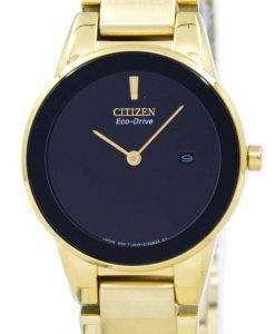 시민 공리 에코-드라이브 GA1052-55E 여자의 시계