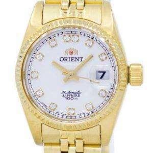 동양 자동 일본 다이아몬드 악센트 SNR16001W 여자의 시계를 만든