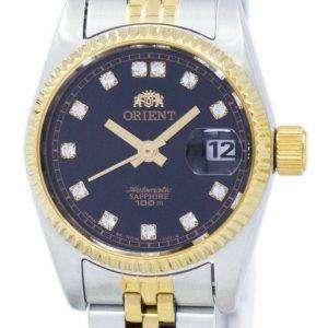 동양 자동 일본 다이아몬드 악센트 SNR16002B 여자의 시계를 만든