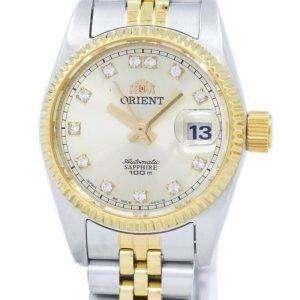 동양 자동 일본 다이아몬드 악센트 SNR16002C 여자의 시계를 만든