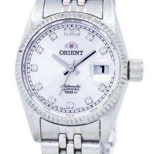동양 자동 다이아몬드 악센트 SNR16003W 여자의 시계