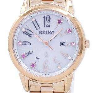 세이 코 태양 일본 다이아몬드 악센트 SUT302 SUT302J1 SUT302J 여자 시계를 만든